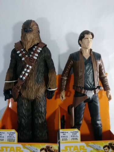 Solo: A Star Wars Story Han Solo & Chewbacca Action Figure Big-Figs  Bonus Items