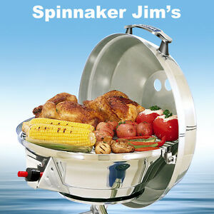 NEW-Magma-A10-207-3-Marine-Kettle-COMBO-Stove-amp-Gas-BBQ-Grill-15-034-Boat-Barbecue