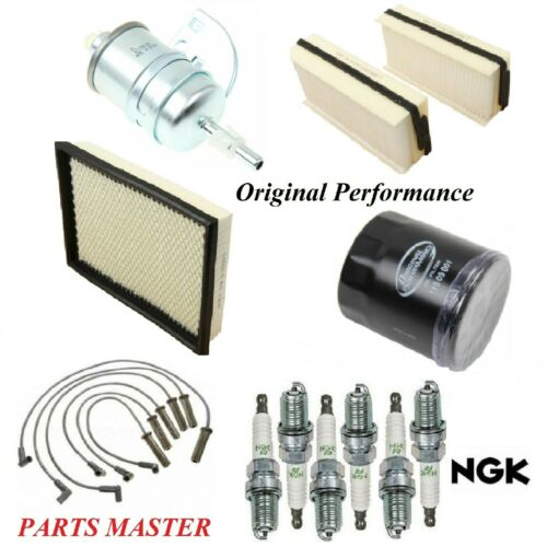 Tune Up Kit Filters Wire Spark Plugs For CHEVROLET VENTURE V6 3.4L 1997-1999