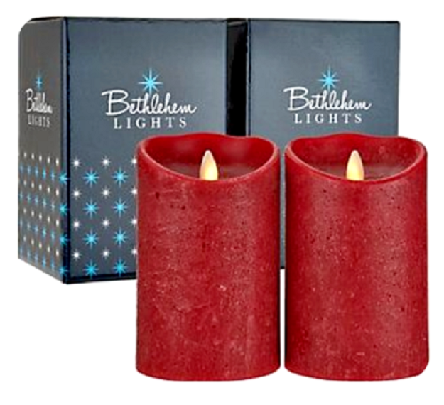 Set Of 2 Bethlehem Lights 7 Touch