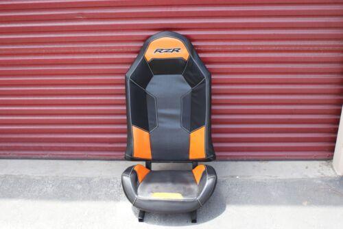 BlacK Polaris RZR XP1000 Seat Orange