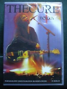 Details about The Cure - Trilogy DVD Pornography,Disintegration  Bloodflowers Live In Berlin