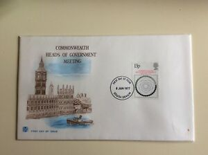 Post-Office-First-Day-Cover-Commonwealth-Heads-of-Government-Meeting-1977