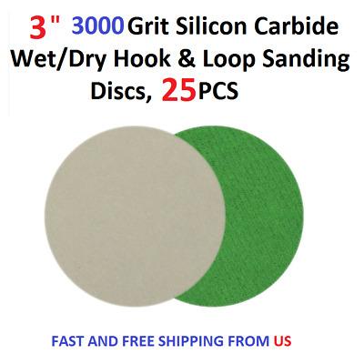 2 inch  Hook and Loop Sanding Discs 25//pk 7000 Grit
