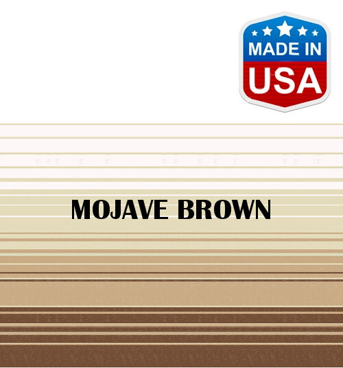 16' RV Awning Replacement Fabric for A&E, Dometic (15'3 ) Mojave Brown