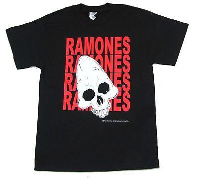 Seal T Shirt  Gabba Gabba Hey Ho Lets Go New Official Ramones Pinhead Skull