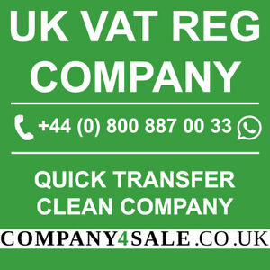 2X Vat Registered limited companies  for sale business company code 2x