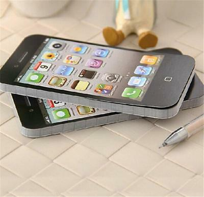 Trendy Sticky Note Paper Cell Phone Memo Pad Scratch Office Stationary