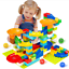 Crazy-Maze-Ball-52-352Pcs-Track-Marble-Tracks-Building-Block-Run-Race-Funnel-FR miniature 6