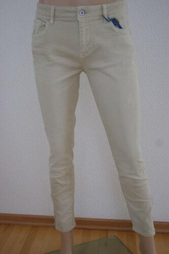 ESPRIT DONNA SARTORIALE abbreviata Jeans Cotone Mix-Jeans skinny fit NUOVO