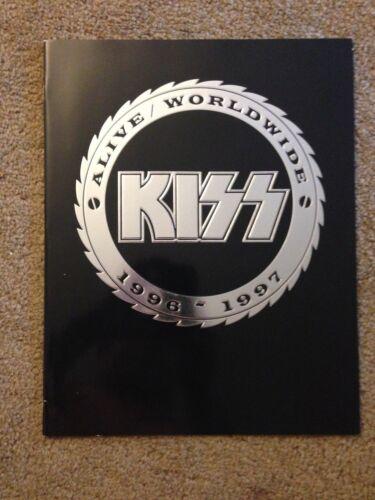 KISS - Alive World Wide 1996 - 1997 Concert Tour Program .