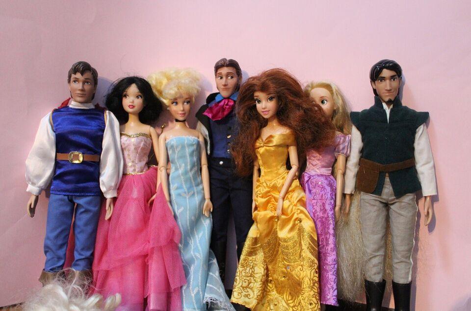 Barbie, Disney dukke - Pris fra 175 kr.