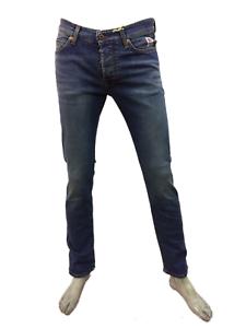 ROY-ROGER-039-S-Jeans-Uomo-Modello-529-WEARED-10-Denim-Nuova-Collezione-Royrogers