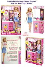 Muñeca Barbie Conjunto de Juego Panadería dueño-DNC70 (DMC35) - Mattel