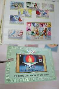 OLYMPICS 1972 MUNICH COLLECTION ** /Dk739