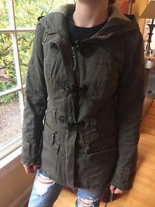 e05e1d952 BNCI Blanc Noir Coat hood and Olive from Nordstrom Rack XS | eBay