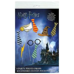 Harry-Potter-Childrens-Hogwarts-Birthday-Party-Photo-Booth-Props-Decorations-New