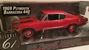 1969 Plymouth Barracuda 440 – transport
