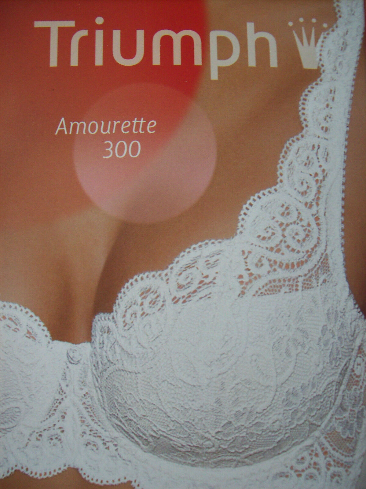 Bra Triumph Amourette 300 WHP Padded Bra Poudre Skin Nude Size 32 C New + Tags
