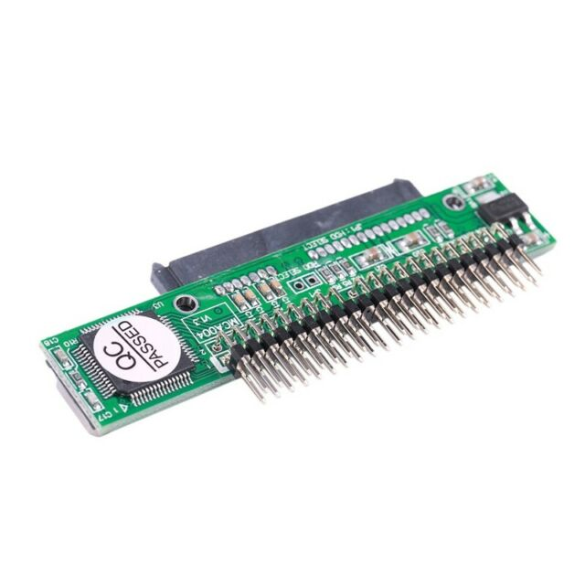 """7+15 Pin SATA SSD D Female to 2.5"""" 44Pin IDE Male Adapter for Laptop U1C6"""