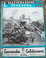 1941 'ILLUSTRAZIONE ITALIANA' ESERCITO ITALIANO SUL FRONTE RUSSO, PARACADUTISTI