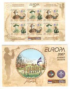 Serbien-2007-EUROPA-Markenheft-postfrisch