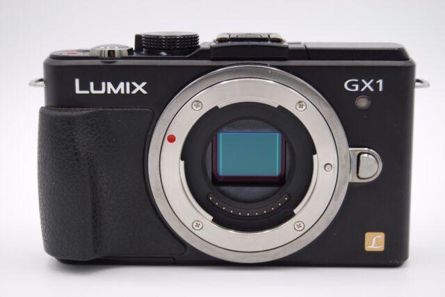 Panasonic Lumix DMC-GX1 16.0MP 3'' SCREEN DIGITAL CAMERA (NO BATTERY)