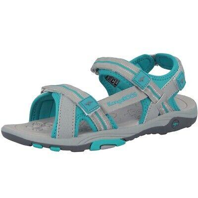 Kangaroos K-leni Schuhe Sandalen Freizeit Sandaletten Grey Turquoise 18335-2035 Ein Kunststoffkoffer Ist FüR Die Sichere Lagerung Kompartimentiert