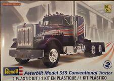 Revell 1/25 Peterbilt 359 Conventional Tractor Plastic Model Kit 85-1506