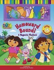 Homeward Bound!: A Magnetic Playbook (Dora the Explorer (Simon &-ExLibrary