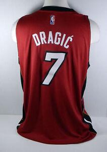 buy popular b063c b06cd Details about Miami Heat Goran Dragic #7 Replica Red Swingman Jersey