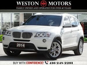 2014 BMW X3 XDRIVE28I*PANROOF*LEATHER*REV CAM*PICTURES COMING*