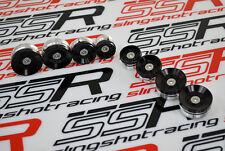 Ducati Diavel Dark Carbon Strada Cromo Amg Billet Black Frame Plugs Cover Caps