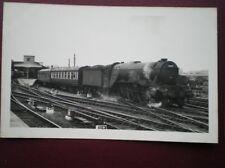 PHOTO  LMS A3 CLASS LOCO NO 60069 'SCERPTE' AT YORK AUG 1957