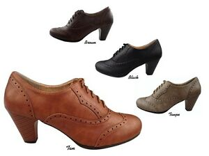 Navy Blue Oxford Shoes Womens