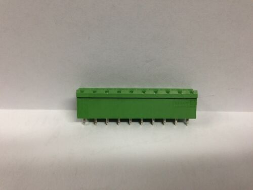 Phoenix 10 Pole 5MM 300V 10A Pluggable Header Connector PCB Part number 1753592