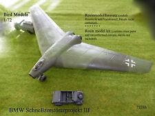 BMW Schnellzerstörerprojekt III    1/72 Bird Models Resinbausatz / resin kit