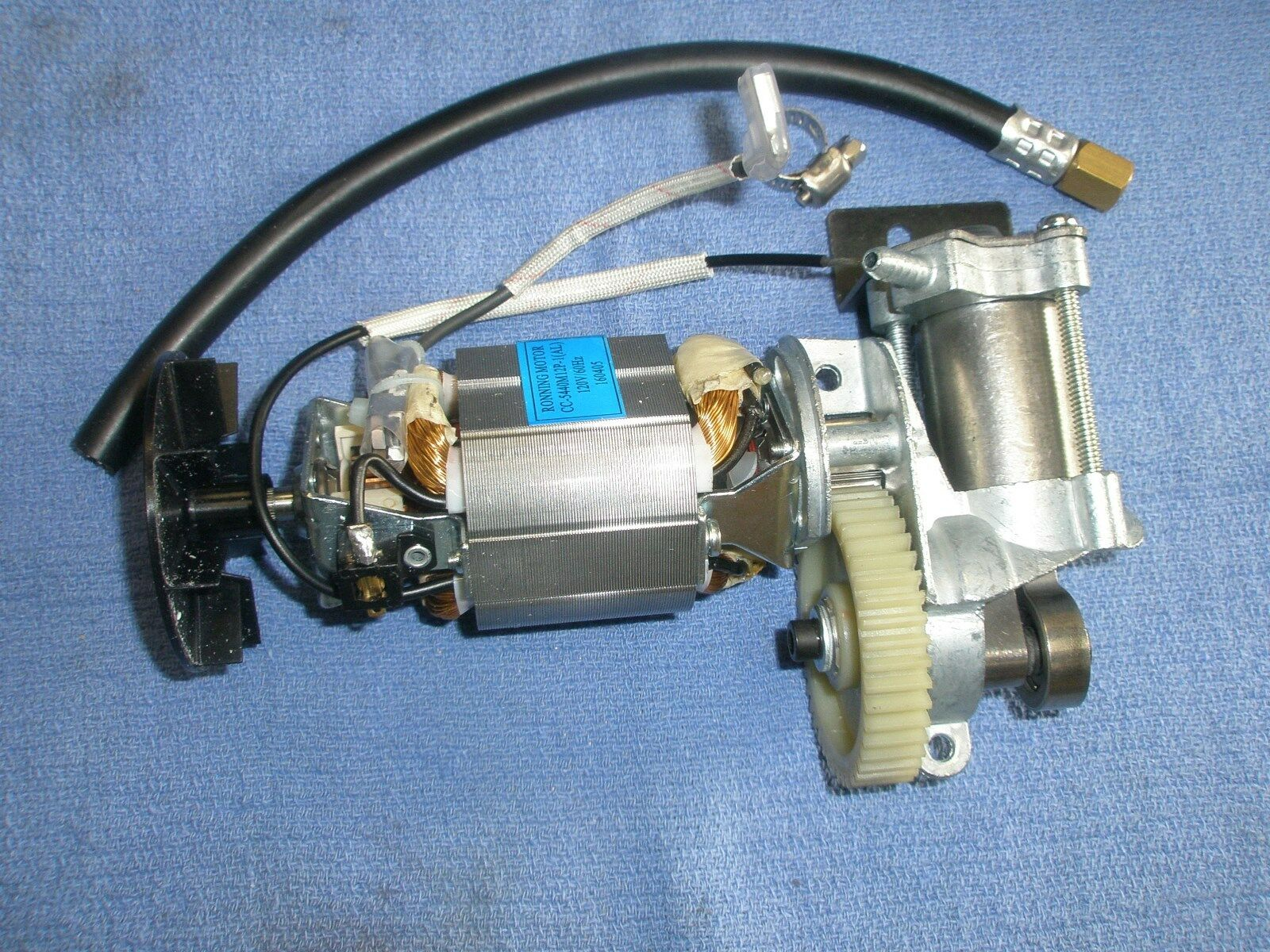 Fp209039av campbell hausfeld air compressor pump motor for Air compressor pump and motor