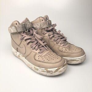 nouveau concept fe445 9dc86 Details about Nike Air Force 1 Beige Sand Military Camo Basketball Shoes  (AT3293-200) - Sz 10