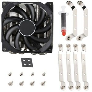 For IS-30 CPU Cooler Radiator Smart Silent Cooling Fan 3600RPM 4PIN Power Supply