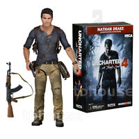 7 Nathan Drake Figure Unchartered 4 A Thief's End Ultimate Edition Neca Ps4