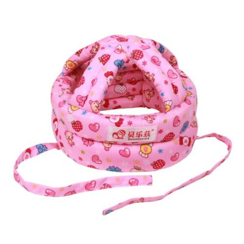 Infant Baby Kids Safety Helmet Cap Toddler Walking Crawling Head Protective Hats