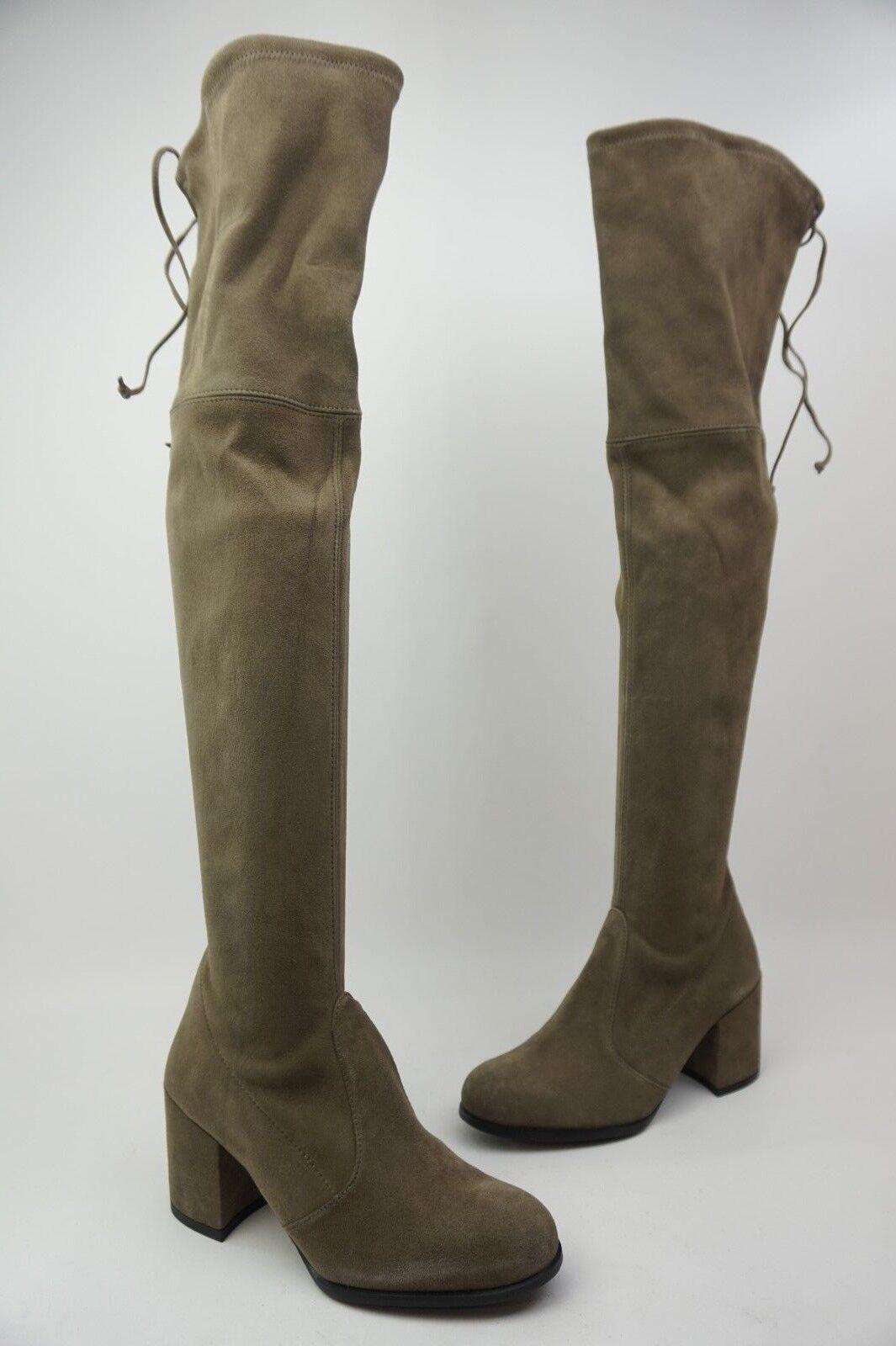 Stuart Weitzman Hinterland Praline Grey Over The Knee Boots Boots Boots Size 5 M b35469