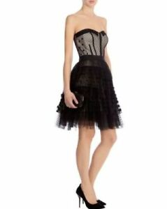 brand new without tag karen millen black polka dot tutu