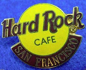 San-Francisco-California-Classico-Arancione-Logo-2LC-Tac-dietro-Rigida-Rock-Pin
