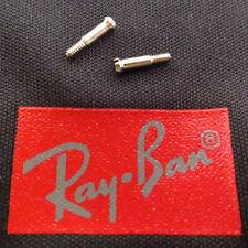 Ray-Ban RB 2140 Original Wayfarer Replacement Hinge Temple Silver Screws