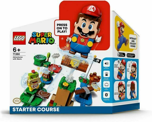Lego Super Mario: Adventures with Mario Starter Course (71360) for sale online