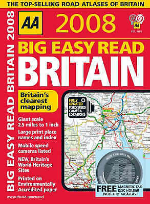 (Good)-Big Easy Read Britain (AA Atlases) (AA Atlases S.) (Spiral-bound)-AA Publ