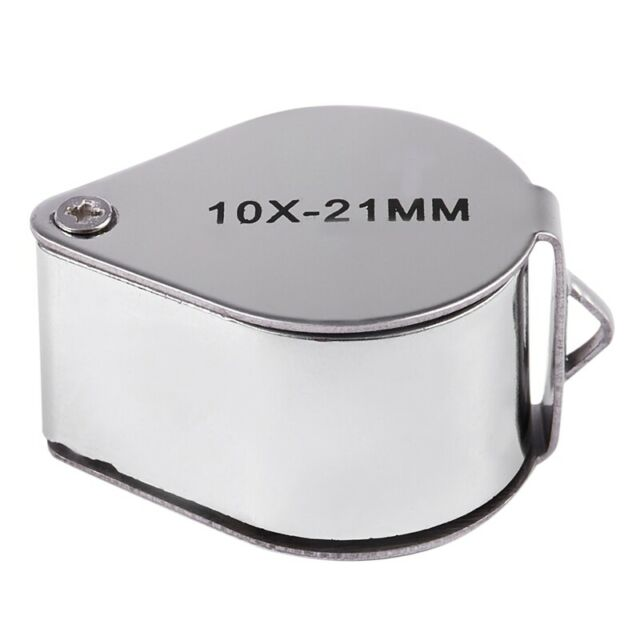 1X(Jewellers Jewelry Loupe Magnifier Eye Magnifying Glass 10x 21mm L3B1)