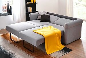 posa schlafcouch mit federkern sofa mit bettfunktion. Black Bedroom Furniture Sets. Home Design Ideas